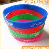 Kundenspezifischer SilikonWristband für Förderung-Geschenke (YB-CB-03)