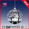 High-End Regalos de Navidad colgantes Snow Globe Luz con LED