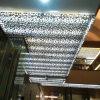 Painéis de teto de alumínio perfurados com testes padrões ocos decorativos
