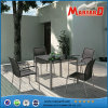 Dining esterno Set Stainless Steel Dining Table e Chair Sets