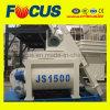 Смеситель двойного вала электрический конкретный, Js1500 принудил конкретный смеситель