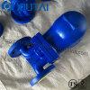 Válvula de vapor de flotador de bola de acero fundido de un solo asiento