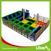 Trampoline мягких оборудований спортивной площадки детей крытых материальный крытый