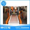 Rebobinamento de alumínio da folha do agregado familiar e máquina de estaca (ISO do GV do CE)