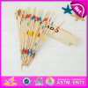 2015 classico Social Games Sticks Toys, Funny Play Wooden Toy Mikado Game, Wooden Mikado e Domino Set Toy con Wooden Box W01b014