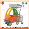 シート(ZHt230)が付いている子供のプラスチックS Upermarketショッピングトロリー