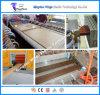 Máquina de madera de la protuberancia del perfil del PVC para la decoración de interior y al aire libre