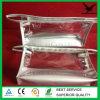 De Kosmetische Zak van pvc van de bevordering met de Bovenkant van de Ritssluiting