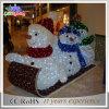 Luz nova da decoração do boneco de neve do diodo emissor de luz do Natal do motivo 3D