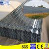 Placa de aço ondulada laminada revestida zinco