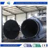 重油への不用なタイヤの熱分解のプラント