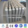 Cilindro de alta pressão do dióxido de carbono do cilindro do CO2 do aço sem emenda 40L