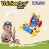 Mini jouet intellectuel éducatif en plastique de boussole de train d'enfants