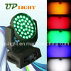5in1 RGBWA Wash e Zoom 36X15W LED Effect Lights