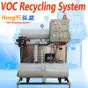 Sistema de recicl do Voc e coletor do Voc para o tanque de armazenamento solvente & a linha de produtos industrial