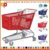 Qualitäts-Plastiksupermarkt-Einkaufswagen-kaufenlaufkatze (Zht89)