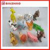 Le mini plastique adapté aux besoins du client promotionnel 3D badine le jouet d'animal de PVC