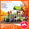 Fun를 위한 아이 Plastic Gymnastics Playsets Outdoor Playground Slides