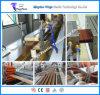 La riga decorativa dell'espulsione di profilo di WPC, Decking composito di plastica di legno profila la macchina