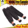 100 % de Tissage de cheveux brésiliens de pièces brutes