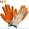 Трикотажные хлопка линии рабочие перчатки с покрытием из латекса