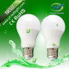 diodo emissor de luz E27 de 6W 8W com o UL do CE SAA de RoHS