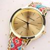 Wristwatch нержавеющей стали вахты повелительниц надувательства самого последнего способа Armbanduhr кварца типа женщины конструкции просто горячий