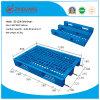 Charge statique en plastique du plateau 2-4ton de HDPE en plastique normal de la palette 1200*800*160mm d'UE pour des produits d'entrepôt