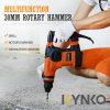Kynko 1050W инструменты многофункциональной рукоятки молотка вращающегося решета