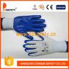 2017 Ddsafety синий нитриловые перчатки