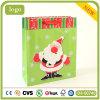 Weihnachtsgrünes Beutel-alter Mann-Muster-Geschenk-Papierbeutel