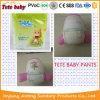 2017 para possuir calças respiráveis macias secas super do bebê da fábrica do OEM do tipo