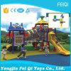 Скольжение парка атракционов темы игрушек детей для спортивной площадки малышей напольной (FQ-KL052A)