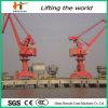 Tipo de ligação quatro tipo portal guindaste de 30 toneladas do porto