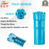 45r32 Thread Parabolic Button Bit para Hard Stone