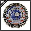 Мода эмаль памятной монеты для продвижения по службе (BYH-10550)
