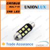 Diodo emissor de luz Auto Bulb Festoon Light de C5w 36mm