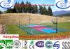 スリップ防止Professinalの適性のバスケットボールコートの床はフロアーリングを遊ばす