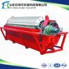 Unidade de desidratação de lamas industriais, Filtro de discos de cerâmica