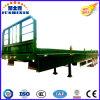 De Semi Aanhangwagen van het Nut van de vrachtwagen & ZijRaad van de Container/Zijgevel/Omheining/Zijwand/Buffet 3 de Aanhangwagen van de Tractor van de Lading stortgoed van Assen