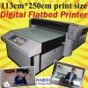 130X250cm impresión de tamaño de vidrio de impresora plana (colorido1325)