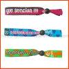 Wristbands ajustáveis da tela do poliéster da alta qualidade (PBR020)