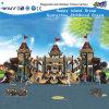 Das crianças plásticas da corrediça do castelo do parque de diversões campo de jogos ao ar livre HD-Fy10101