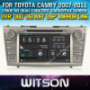 Toyota Camry 2007-2011년 Car를 위한 Witson Car DVD DVD GPS 1080P DSP Capactive Screen WiFi 3G Front DVR Camera