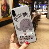 Красочные модели мобильного телефона корпуса ПК с невидимыми держатель для iPhone