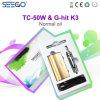 Seego는 K3를 G 명중했다 & Tc 50W 대중적인 보이지 않는 펜 일반적인 기름을%s 코일 Vape 이중으로 한다