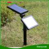 48 LEDs Radar Sensor de movimento de microondas Jardim relvado Luz Solar