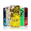 iPhone 7/7plus/x 8plus를 위한 호화스러운 반짝임 애인 액체 뒤 전화 상자 덮개