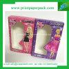 Karikatur-Serien-Rosa-steifer Pappduftstoff-kosmetischer Verpackungs-Kasten