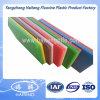 Лист HDPE зеленой и красной HDPE доски 2 слоев пластичный